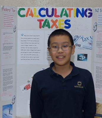 Taxes at Math Fair